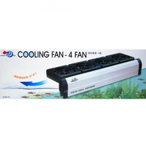 [유피]UP COOLING FAN-4FAN [쿨링팬4구] [G-051-04]
